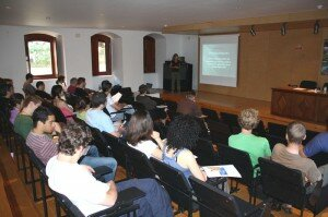 Impression from the classroom with Prof. Corsi teaching