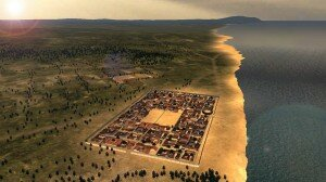 Potentia and the coastal area in Roman times.
